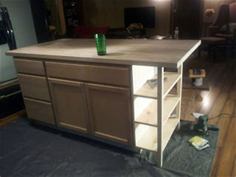 Easy Kitchen Island by 14 Simple Homemade Kitchen Islands Shelterness