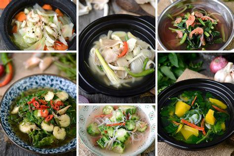 aneka sayur masak bening menu ringkas mudah dimasak rasa