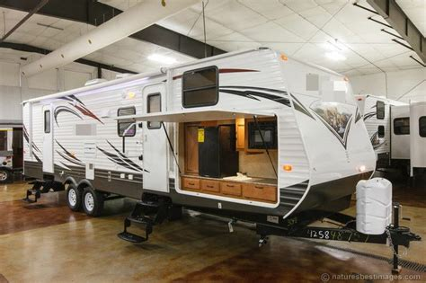 bunkhouse travel trailers with outdoor kitchens new 2014 30fbss slide out bunkhouse travel trailer outdoor