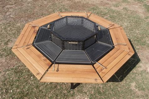 Pit Grill Table by Awesome Grills