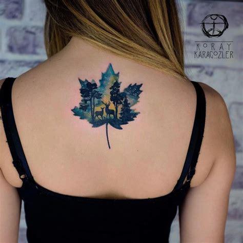 1000 id 233 es sur le th 232 me tatouages de feuille d 233 rable sur