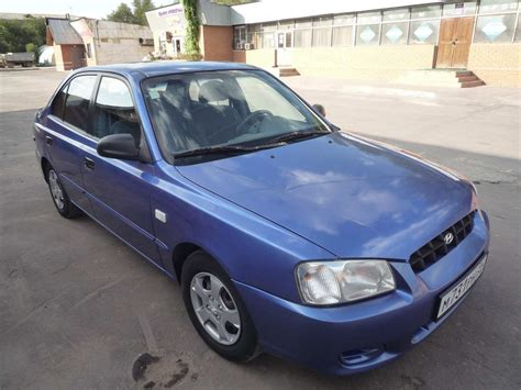 Hyundai Accent 2000 by 2000 Hyundai Accent Pictures 1600cc Gasoline Ff