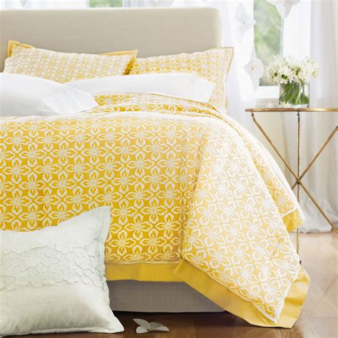 springmaid comforters springmaid maura yellow print comforter set