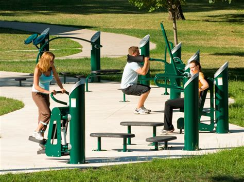 Landscape Structures Fitness Healthbeat Outdoor Fitness Systems Product Ods