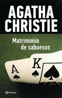 libros y misterios matrimonio de sabuesos agatha christie