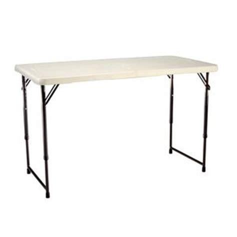 4 ft bifold table lifetime 4 bi fold table officeworks
