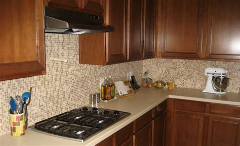 small tile backsplash in kitchen country style kitchenette decoration with lowes travertine