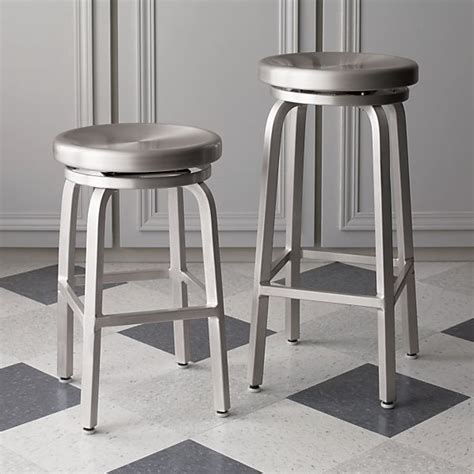 Stainless Steel Bar Stool Stainless Steel Bar Stools