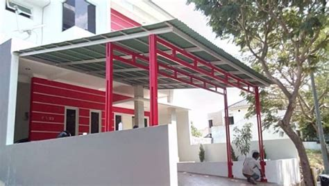 Kanopi Baja Ringan Pamulang 10 model dan desain kanopi baja ringan minimalis terlaris 2015 pagar kanopi rumah minimalis