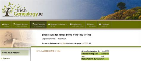 Marriage Records Dublin Birth Marriage And Indexes