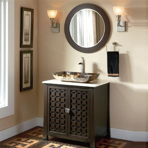 Modern Bathroom Vanities With Vessel Sinks Adelina 30 Inch Contemporary Vessel Sink Bathroom Vanity Espresso Finish Cabinet Is A New