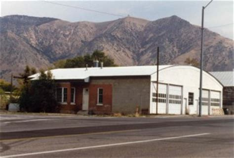 the brigham city depot was on 5th west forest it