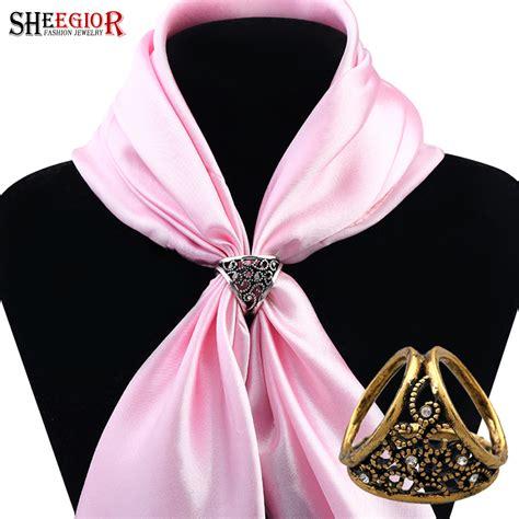 scarf buckle aliexpress com buy vintage alloy silk scarf buckle