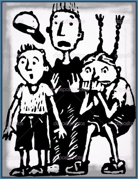 imagenes de halloween a blanco y negro dibujos de ni 241 os con miedo archivos imagenes de miedo