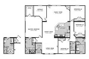Triple Wide Trailer Floor Plans by Triple Wide Trailer Floor Plans Submited Images Pic2fly
