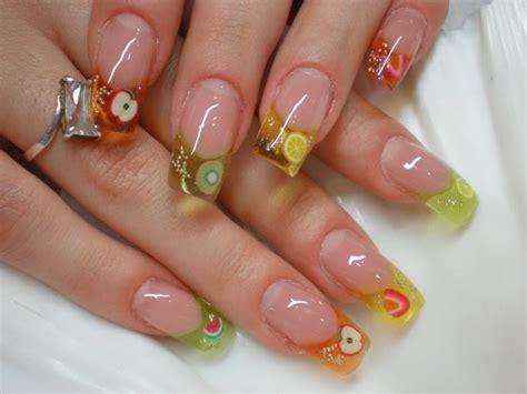 imagenes de uñas de acrilico para primavera fotos de u 241 as de acr 237 lico electrocutado