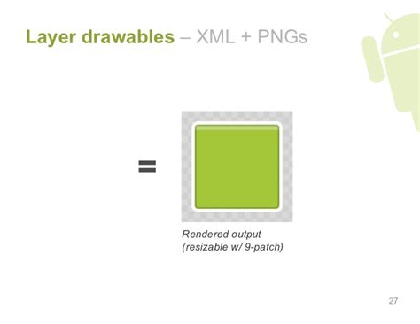 android layout layer layer drawables xml