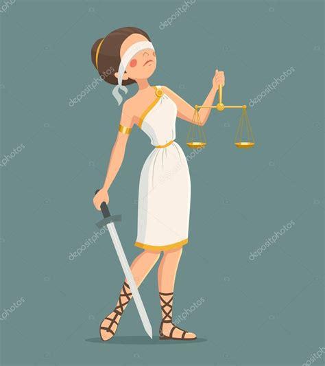 imagenes de la justicia animadas ilustraci 243 n de la dama de la justicia archivo im 225 genes