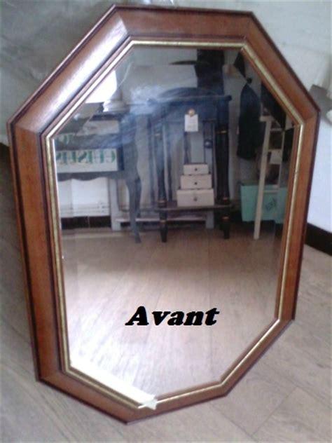 Relooker Un Miroir by Miroir Jaune Cire Avec Un Filet Or D 233 Coration Du Bontemps