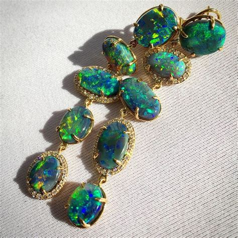 ford opal lightning ridge opal earrings by john ford dance in the