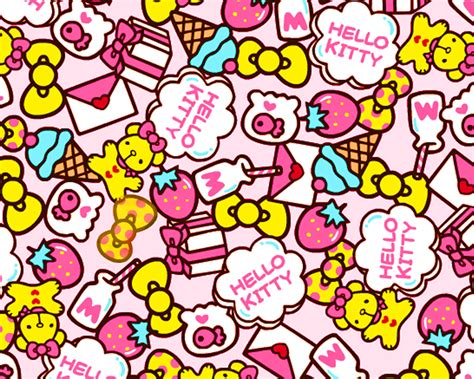 hello kitty wallpaper on tumblr absolutely adorable