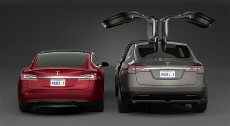 tesla model are those falcon doors holding up the tesla model x