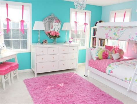 blue and pink girls bedroom pink blue girls room kids room inspiration pinterest