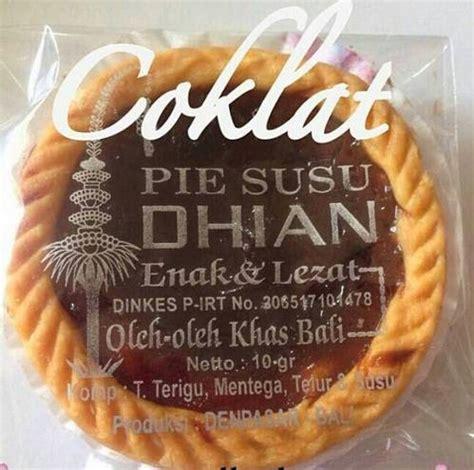 Pie Dhian 50pcs pie dhian rasa coklat enak dan mantap pie