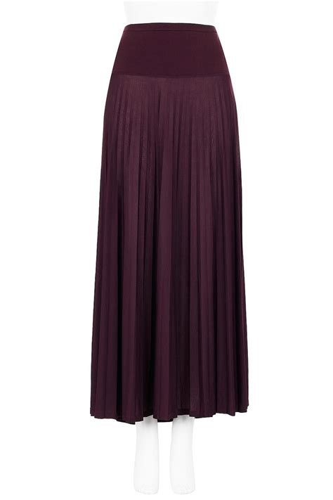pleated maxi skirt topshop fashion