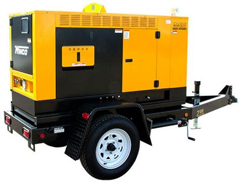 winco generator 20kw mobile diesel rp25 redi power