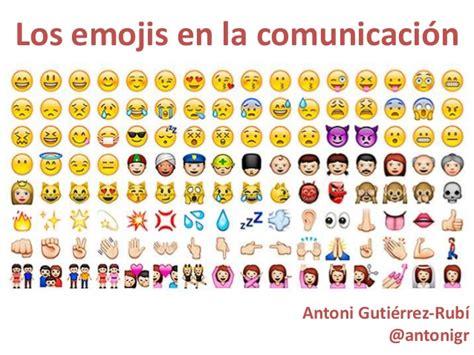 imagenes de todos los emoji los emojis en la comunicaci 243 n