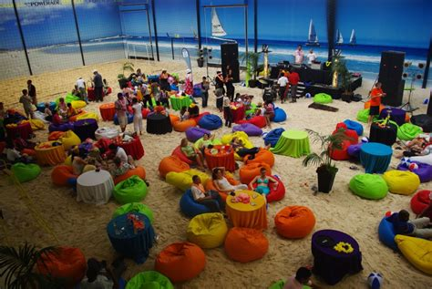 10 awesome beach themed projects for a vacation like feel host your year end party at our indoor beach venue with