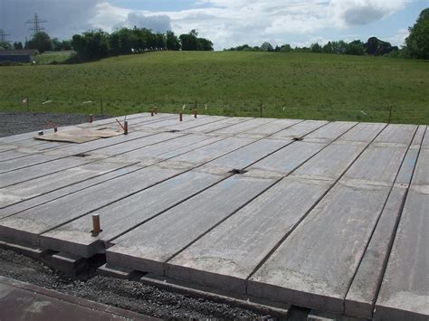 Floating Floor Concrete Slab by Prestressed Concrete Flooring Precast Concrete Floors