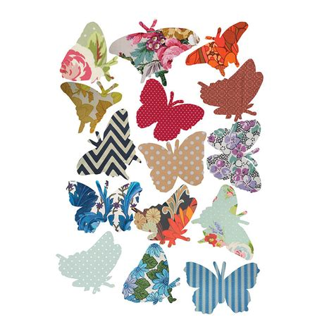 Design Your Own Wall Sticker vintage style butterfly vinyl wall stickers by oakdene