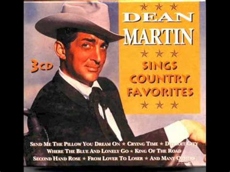 Dean Martin Send Me The Pillow by Dean Martin Send Me The Pillow You On