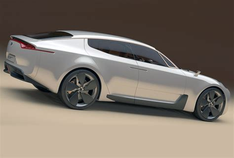 Kia Gt Concept Kia Gt Four Door Coupe Could Debut Soon Hq Still Keen On