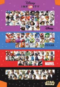 Disney Infinity Checklist Disney Infinity 3 0 Character Checklist Version 2 By
