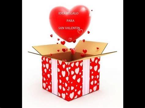 regalos para el dia de san valentin caja de los 5 sentidos f 193 cil y original youtube
