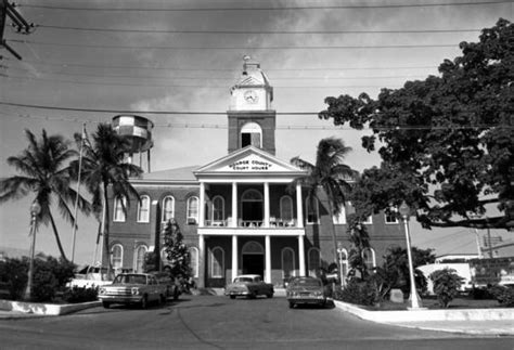 Mcdonald County Court Records Florida Memory County Court House Building On