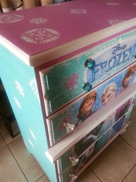 Frozen Dressers by We Created This Beautiful Frozen Dresser It Turned Out