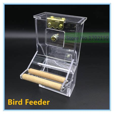 new bird automatic feeder tidy seed no mess bird feeder