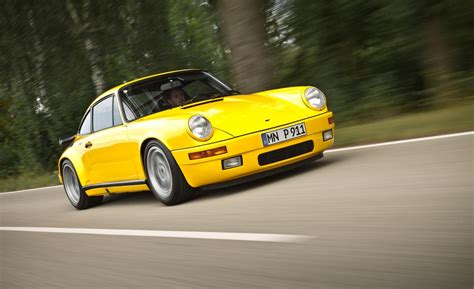 porsche ruf yellowbird car and driver