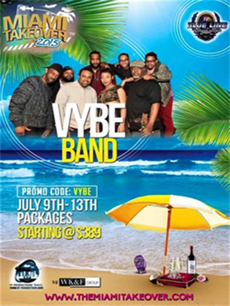 Colony South Decoy Lounge Calendar Vybe Band