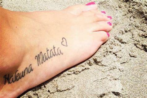 40 frases para tatuajes en los pies tatuajes en ingles