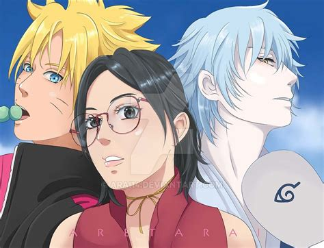 boruto x mitsuki lemon fanfiction sarada boruto mitsuki by arai14 on deviantart