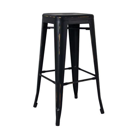 replica tolix stool in antique matte black