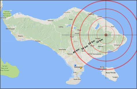earthquake ubud bali earthquake ubud bali latest news eruption of gunung mount