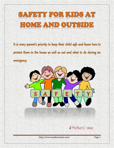 tips home child safety tips at home and outside