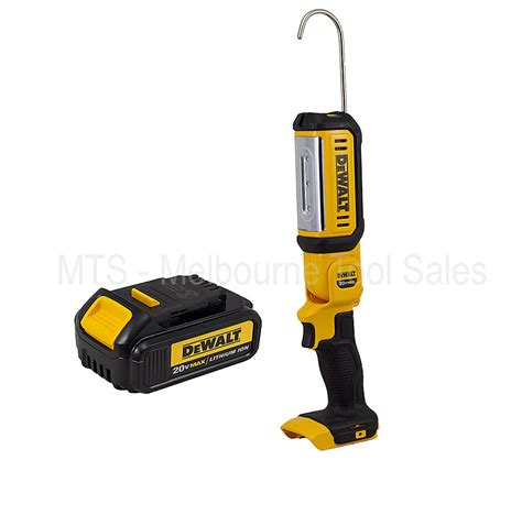 dewalt led portable work light dewalt dcl050 18v 20v max xr cordless led area work