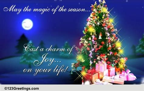 magic  christmas  merry christmas wishes ecards greeting cards
